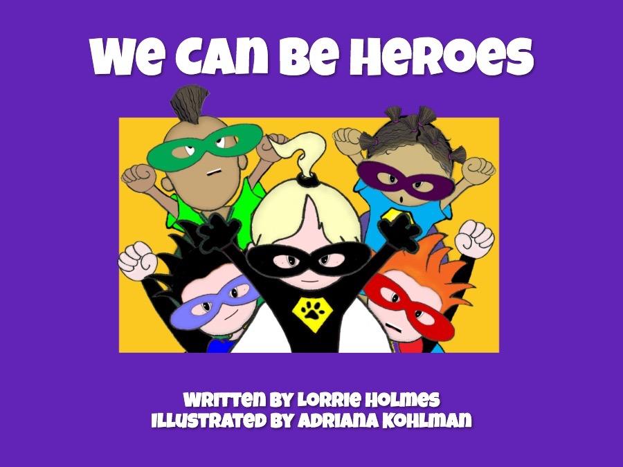 We Can Be Heroes digital book